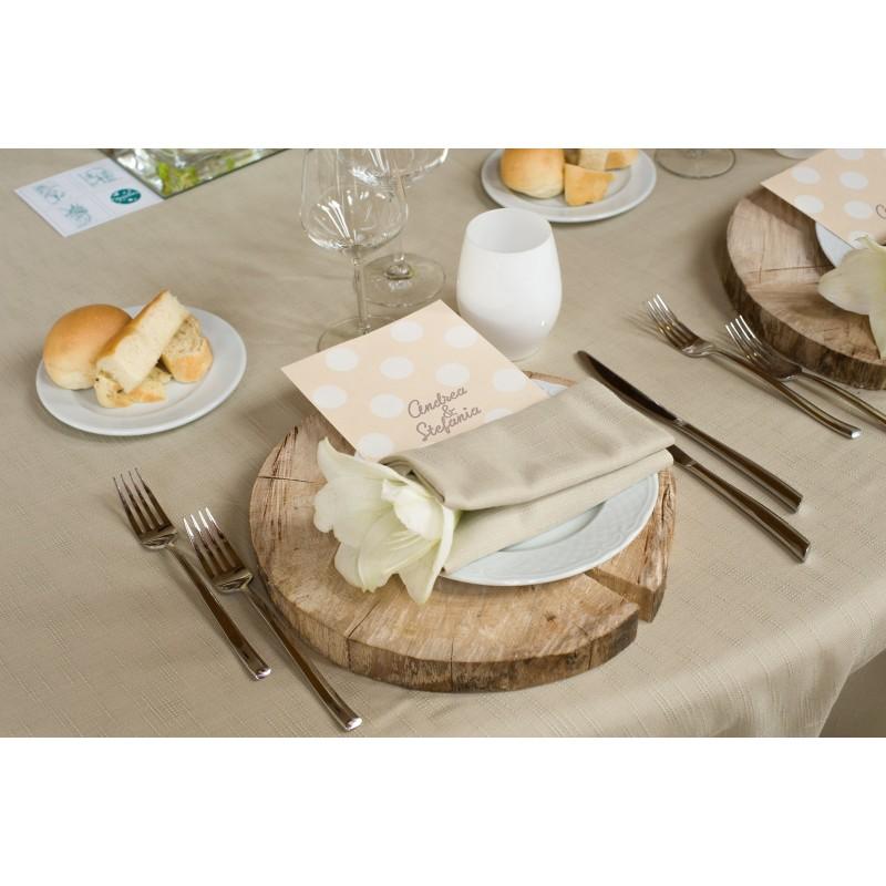 Segnaposto Matrimonio In Legno : Noleggio segnaposto sottopiatto tondo legno ristorent