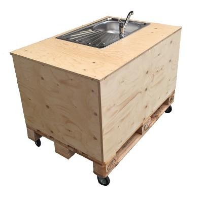 carretto show cooking lavandino