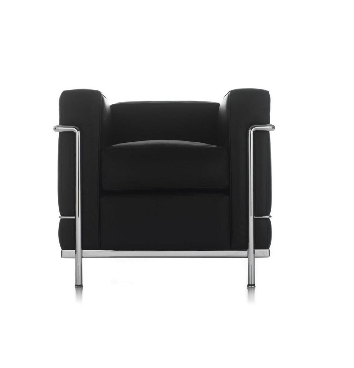 Poltrona Le Corbusier.Noleggio Poltrona Mod Le Corbusier