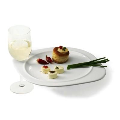 Piatto Porta Bicchiere in Ceramica
