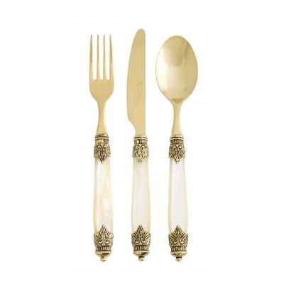 cucchiaio Tavola Barocco Oro