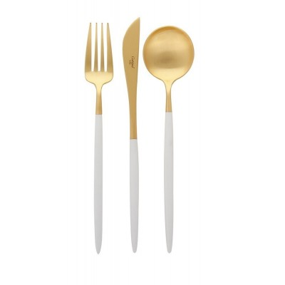 Forchetta Antipasto/Dessert Stiletto Oro