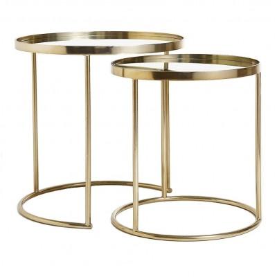 Set tavolini impilabili