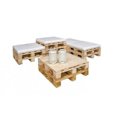 tavolino con bancali
